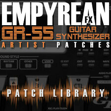 Roland GR-55 ARTIST Patches Guitar Effects Settings Presets FREE FAST SHIPPING