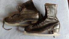 Vintage Pair Of Sports Stars Ice Skates Athletic Shoes Of Distinction Sz 11
