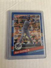 1991 Donruss Ken Griffey Jr Baseball Card #77 Seattle Mariners
