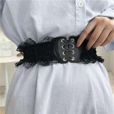 Damen Gürtel Bindegürtel Taillengürtel Wickelgürtel Hüftgürtel Kleid Spitze