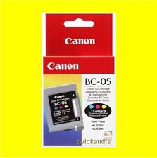 CARTUCCIA ORIGINALE CANON bc-05 color * bjc-200 Series bjc-1000 serie