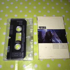 Vintage RARE Music Cassette Tape PORTISHEAD Sour Times / Sour Sour Times