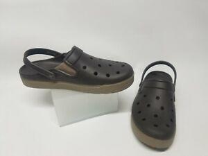 Expresso Brown Crocs Citilane Clogs  Mens 12