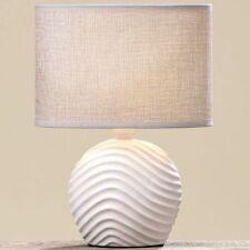 """Nachttischlampe Tischlampe /""""Wave/"""" H 28 cm Dekolampe"""