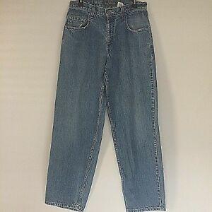"""Levi's Silvertab Men's Blue Jeans 31x32 1/4"""" Baggy Fit Straight Leg Cotton Denim"""