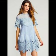 abbdd857f41 NEW Free People x Saylor Hollie Lace Mini Dress Size Small