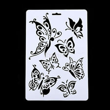 Butterfly Stencil Airbrush Painting Scrapbooking Album Template Kids DIY Craft K