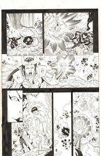 Avengers Next #4 p.17 - 2007 Signed art by Ron Lim Comic Art