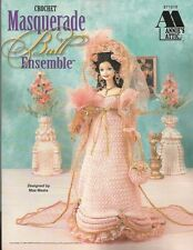Masquerade Ball Ensemble Crochet Pattern for Barbie Fashion Dolls Mae Meats NEW