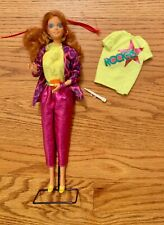 Barbie and the Rockers, 80's Barbie, Extra clothes, microphone, swivel waist