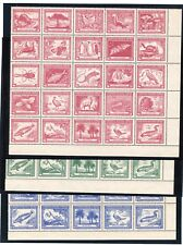 CHILE Claudio Gay wildlife full sheets MNH TOP quality 3p 2.6p & 60c