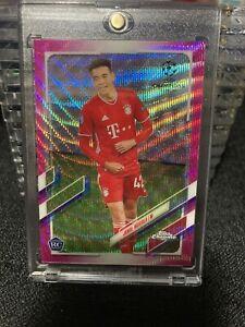 2021 UEFA TOPPS CHROME Jamal Musiala RC Pink X-fractor SP!! FC Bayern Munchen!!!