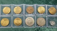 10 Oregon Medals / Tokens, Oregon Trail, Mt. Hood, State Capitol, Portland