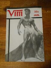VIM bodybuilding muscle beefcake magazine Volume 4 #1 JERRY ROSS 1-57