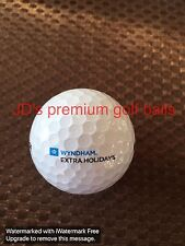 LOGO GOLF BALL-WYNDHAM RESORTS.....EXTRA HOLIDAYS