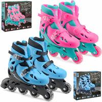 Xootz Kids Inline Skates Padded Roller Blades Boys Girls Adjustable Size UK 9- 3
