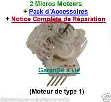 2 MICROS MOTEURS  ENTIERS  100 % NEUFS DE COMPTEUR PEUGEOT 206,806 / CITROEN C5