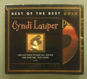 Cyndi Lauper Best of the Best audiophile limited gold edition CD virtually new!