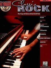 Keyboard Play-Along Volume 3: Classic Rock, Hal Leonard, New Book