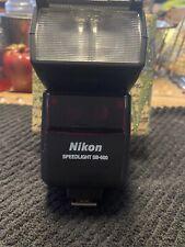 Nikon SB-600 SB600 Speedlight Flash Works Great on or off camera