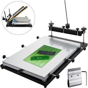 Solder Paste Printer, PCB SMT Stencil Printer, 700x500MM, Manual Press Printer