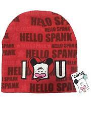 Berretto Invernale Hello Spank Rosso, Cuffia one size 54 *04797