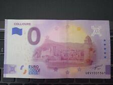 BILLET EURO SOUVENIR 2021-1 COLLIOURE