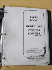 Swinger Model 110 B Swinger Loaders Articulated 4 Wheel Drive Loaders