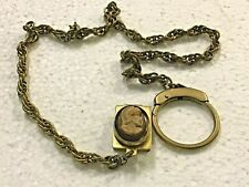Fob Chain 16 inches Long Vintage Swank Roman Soldier Watch