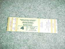 1980 NCAA Beanpot Tournament Full Hockey Ticket Boston University Boston College