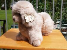 "Vintage Gund -Gray Loulou Poodle Dog - 13 1/2"" -#1379- 1988 -Very Nice- All Tags"