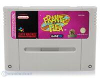 Nintendo SNES Spiel - Frantic Flea Modul