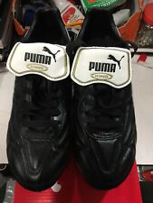Puma King Top Di Fg Soccer Cleats Black And White Size 10.5 Only