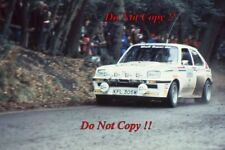 Tony Pond Vauxhall Chevette 2300 HSR RAC Rally 1981 Photograph 1