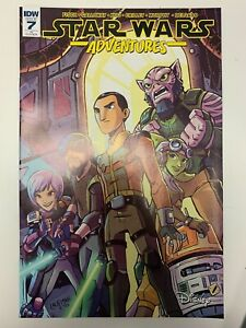 IDW STAR WARS ADVENTURES #7 RI COVER : NM CONDITION