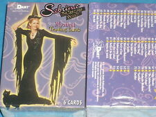 SABRINA 'THE TEENAGE WITCH' Complete Base Set of 72 Mystical Trading Cards