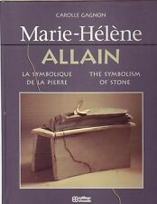 Marie-Helene Allain The Symbolism of Stone Book HC 1994