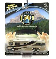 Johnny Lightning Monaco 50th Holiday Rambler Imperial Motor Home RV Diecast 1/64
