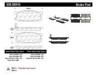 2x Power Stop Front Rear Disc Brake Pad Set For Mazda Miata 1990~1993