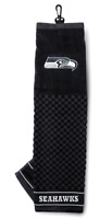 NFL Embroidered Tri-fold Towel - Seattle Seahawks Golf