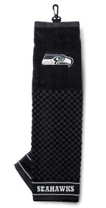 NFL Embroidered Tri-fold Towel - Seattle Seahawks Golf