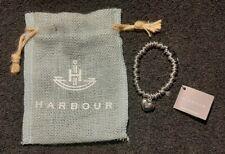 HARBOUR silver tone sweetie bracelet + heart charm Steve Jobs #FIGHTYOURDREAMS
