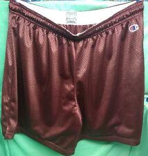 Champion XL burgundy athletic shorts