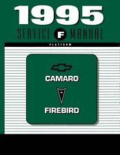1995 Chevrolet Camaro Pontiac Firebird Shop Service Repair Manual Book Engine
