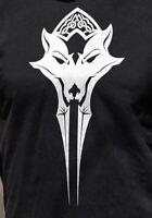 Skyrim The Elder Scrolls Online Greymoor Logo T-Shirt Black S-3XL Bethesda