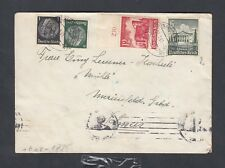 GERMANY AUSTRIA ANSCHLUSS 1941 WWII CENSORED COVER LINZ DONAU TO SWITZERLAND