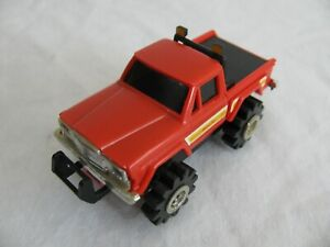 Vintage Schaper Stomper 4X4 Red Jeep Honcho Pickup Truck Works!