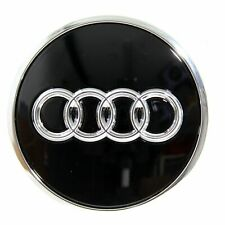 Original Audi Nabendeckel Schwarz glänzend 8W0601170A NEU