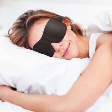 Sleep Mask 'PIPPA' Ultralight 3D Contoured Memory Foam. Free Pouch & Earplugs
