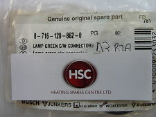WORCESTER HIGHFLOW 400 GREEN LIGHT INDICATOR C/W CONNECTORS 87161208620 GENUINE